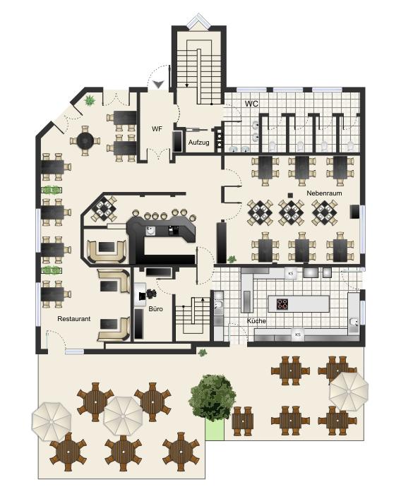 verkaufsoptimierte grundrisse vom premiumanbieter beispiele und layouts. Black Bedroom Furniture Sets. Home Design Ideas